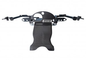 Yamaha R1 15-FHR with carbon airduct short with reinforcement for original mounting points